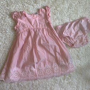Light pink summer dress from Old Navy kids